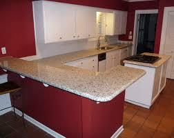 red quartz countertops luna pearl granite installed design photos