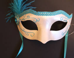 feather masks feather mask etsy