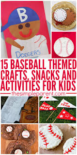amazing baseball crafts u0026 activities for kids