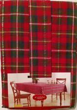 plaid tablecloths ebay