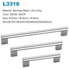 stainless steel kitchen cabinet hardware kitchen cabinets handles stainless steel solid round stainless steel