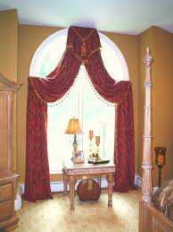 how to make arched window treatments all about house design diy