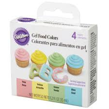gel food color set wilton