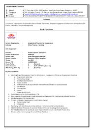 Naukri Com Update Resume Resume Tapadhir
