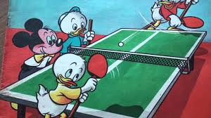 Mickey Mouse Table by Table Tennis Comic Oing Pong With Mickey Tick Trick And Truck