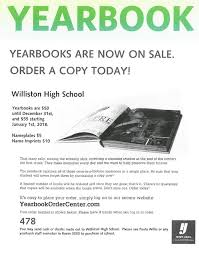 purchase yearbooks high school yearbook williston middle high school