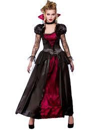 deluxe vampire queen 6 28 ladies halloween fancy dress womens
