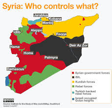 map of syria the future partition of syria an overview