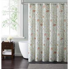 Blue And Yellow Shower Curtains Multi Colored Shower Curtains Shower Accessories The Home Depot