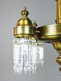 unusual antique crystal light fixture 5 light modernism unusual antique crystal light fixture 5 light