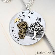 custom engraved jewelry custom necklace personalized jewelry special gifts tree