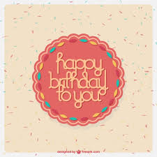 Sweet Birthday Cards Sweet Birthday Card Desing Vector Free Download