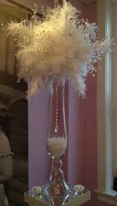 Ostrich Feathers For Centerpieces by Crystal Feather Centerpiece Crystal Bouquets For The Party