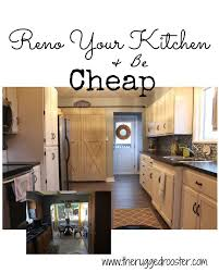 Cheap Flooring Options For Kitchen - farmhouse kitchen reno for cheap hometalk