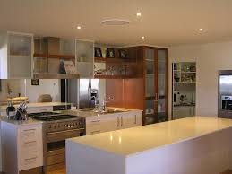gentle modern kitchen with white accents color combined silver