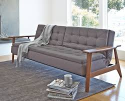 Manstad Sofa Bed Ikea by Decorating Attractive Gray Sleeper Sofas Ikea With Elegant White