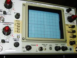 oscilloscope kenwood 20mhz cs 1021 2 channel dual trace with