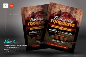 drive brochure templates thanksgiving food drive flyer templates by kinzi21 graphicriver