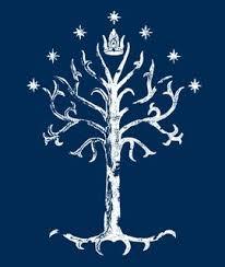 tolkiens legendarium are the on the flag of gondor the big