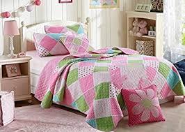 tagesdecke kinderzimmer unimall 3870476 tagesdecke baumwolle patchwork mädchen rosa