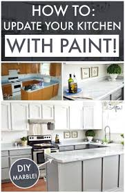 Updating Kitchen Cabinets On A Budget 36 Best Diy Marble Images On Pinterest Countertop Paint Kitchen
