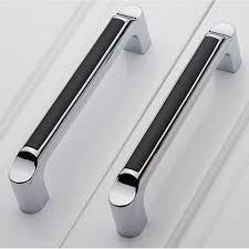 kitchen cabinet door handles companies 128mm modern simple fashion furniture handles silver black kitchen cabinet cupboard door handles chagne chrome drawer pulls
