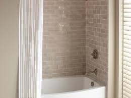 shower bathtub shower combo amazing 48 tub shower combo kohler