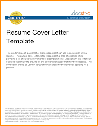sample email for sending resume and cover letter sample email