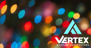 hanging christmas lights hanging christmas lights without damaging your roof vertex roofing