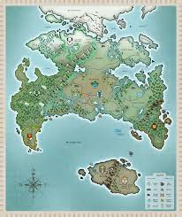 Skyrim World Map by Twokinds World Map By Twokinds On Deviantart