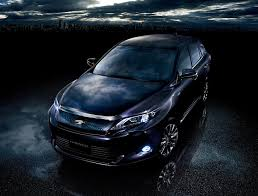 toyota japan website toyota reveals new harrier suv in japan video autoevolution