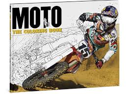 motocross racing for kids moto colouring book for big kids motohead