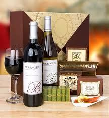 Winebaskets Napa Valley Wine Duet Wine Baskets An Elegant Offering Of