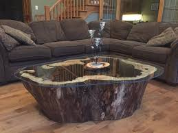 Log Side Table Best 25 Log Coffee Table Ideas On Pinterest Tree Stump With