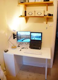 Diy Door Desk by Simon U0027s Diy Ikea Kitchen Cupboard Door Hideaway Desk Apartment