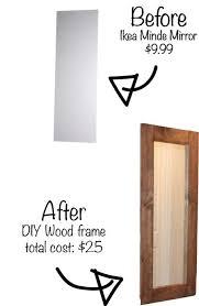 Ikea Bathroom Mirrors Ideas Best 25 Ikea Mirror Hack Ideas Only On Pinterest Ikea Mirror
