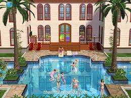 2 house with pool the sims house downloads home ideas and floor plans part 4