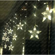 battery operated christmas lights lowes diy led outdoor string lights stars romantic wedding battery