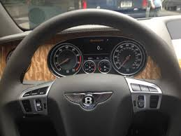 bentley steering wheel bentley flying spur in new york business insider