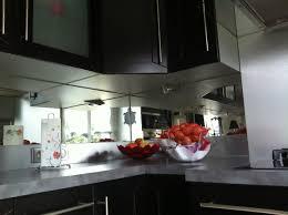 credence cuisine miroir credence en miroir pour cuisine rutistica home solutions