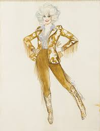 theadora van runkle theodora van runkle costume sketch for dolly parton in the b