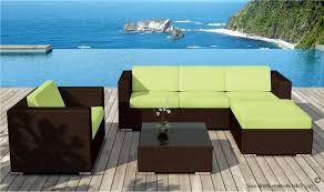 canape resine exterieur canape et fauteuil de jardin design résine tressée marron