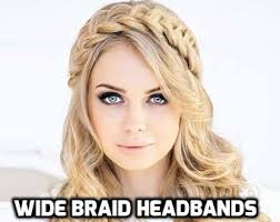 braid hairband braided headband etsy
