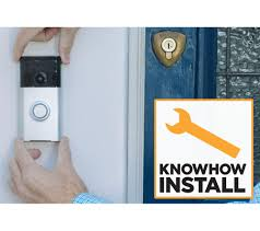 Ring Wi Fi Enabled Video Doorbell by Knowhow Ring Doorbell U0026 Installation Bundle Bronze Deals Pc World