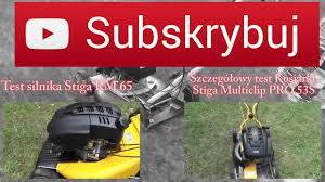 stiga multiclip pro 53 s w akcji youtube