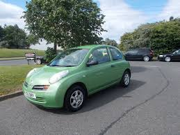 nissan micra ignition switch nissan micra s hatchback 3 door stunning green 2003 only 73k miles