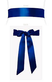 sash ribbon smooth ribbon sash eclipse blue maternity wedding dresses