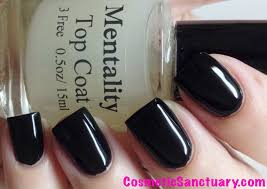 mentality nail polish the top coats swatches and review cosmetic