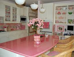 Kitchens Decorating Ideas Pink Kitchen Decor Kitchen Design