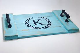 monogrammed serving tray rustic monogrammed serving tray rustic coffee table tray pinners